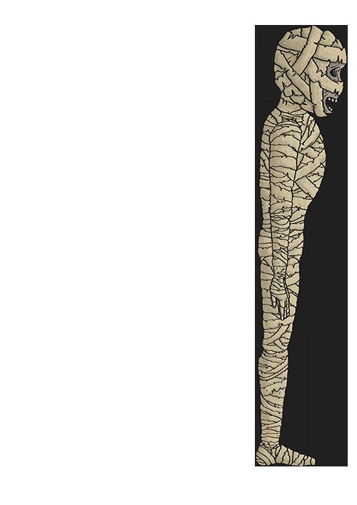 Mumien Skizze 11