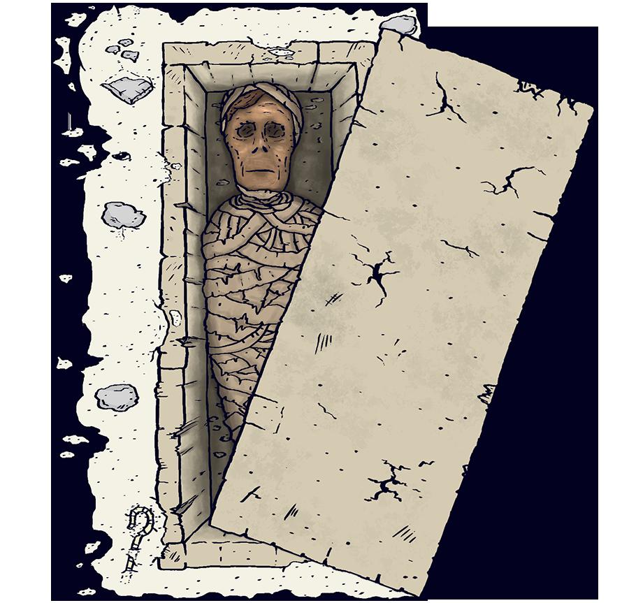 Mumien am Boden 02